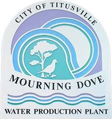 Sign for Mourning Dove Water Treatment Plant