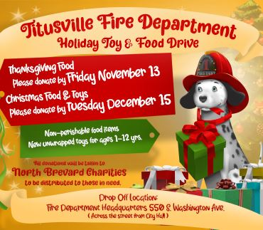 110920 - TFD Holiday Toy and Food Drive