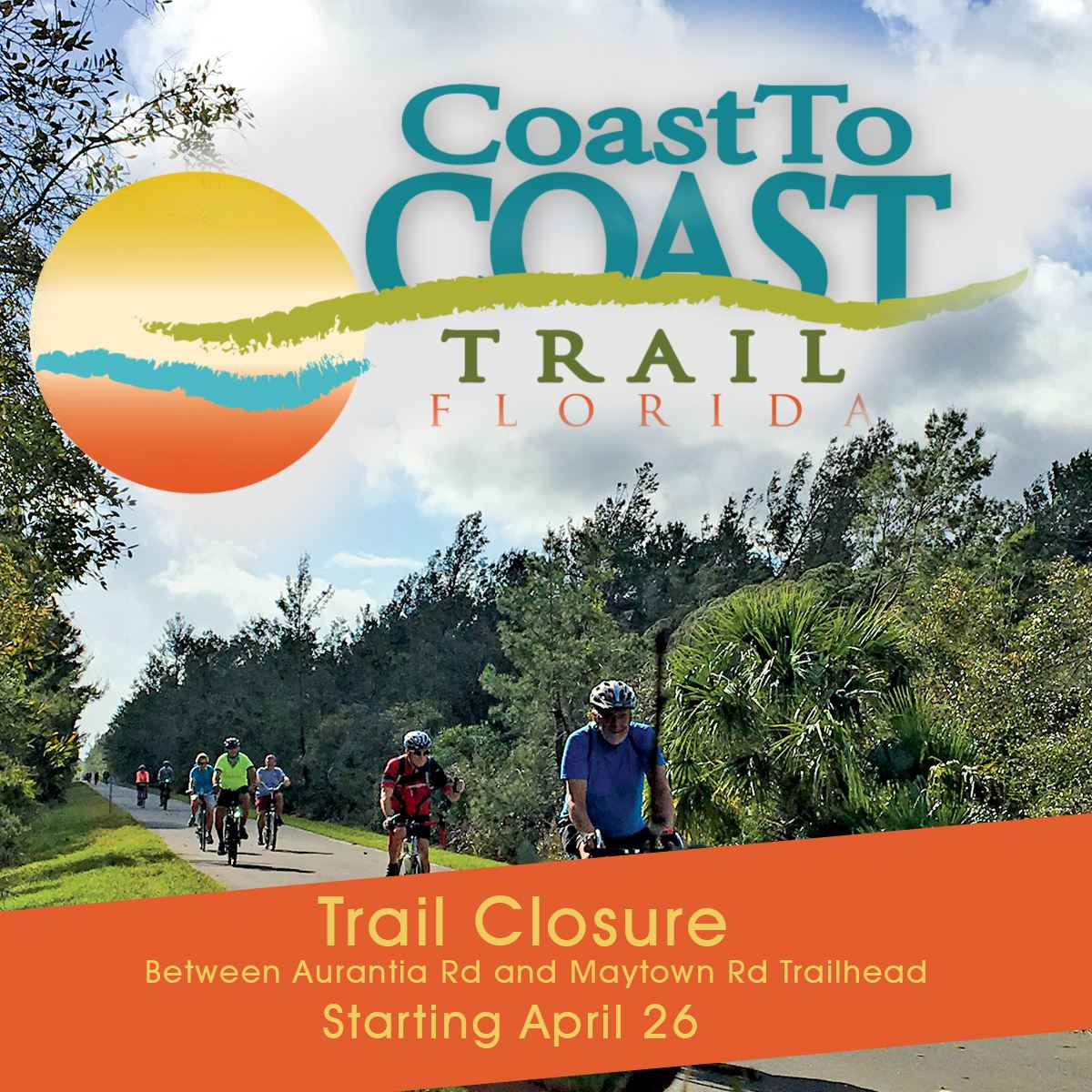 Coast to Coast Trail Closure Starting April 26th