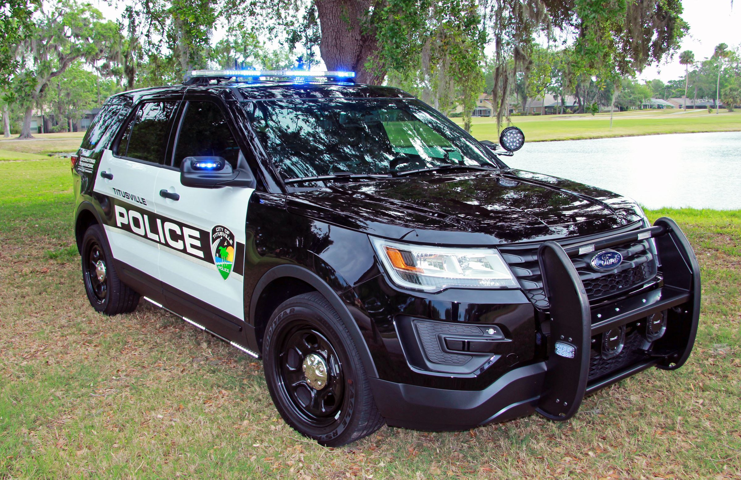 2017 Ford Police SUV