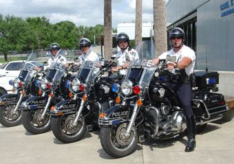 2006 - Officers on Harley Davidsons