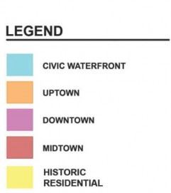 District Map Legend
