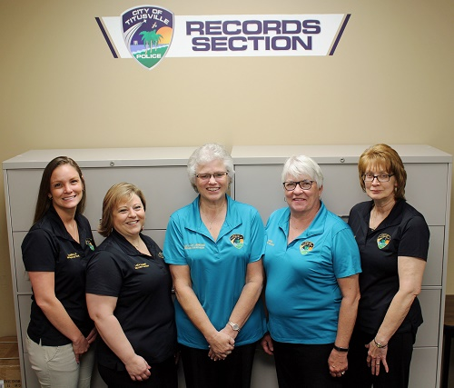 Records Department Staff Photo