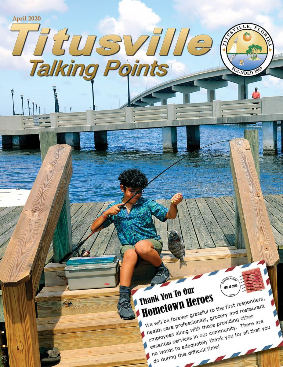 April 2020 Titusville Talking Points Cover