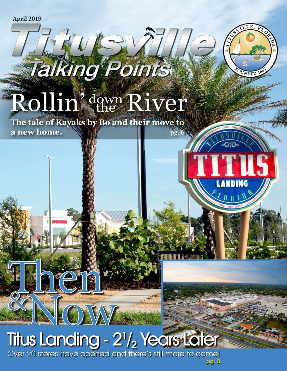 April 2019 Titusville Talking Points Cover