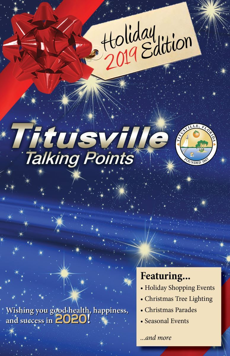 Holiday 2019 Titusville Talking Points Cover