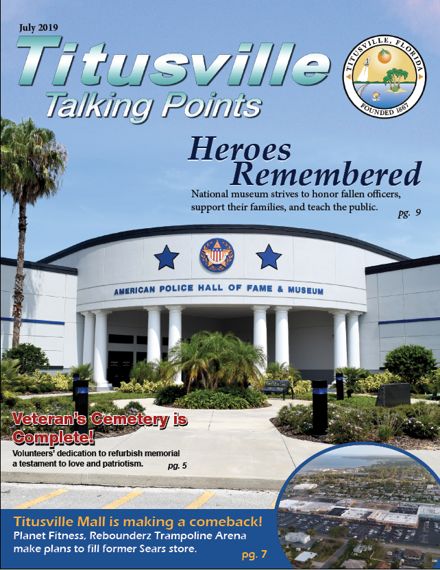 July 2019 Titusville Talking Points Cover