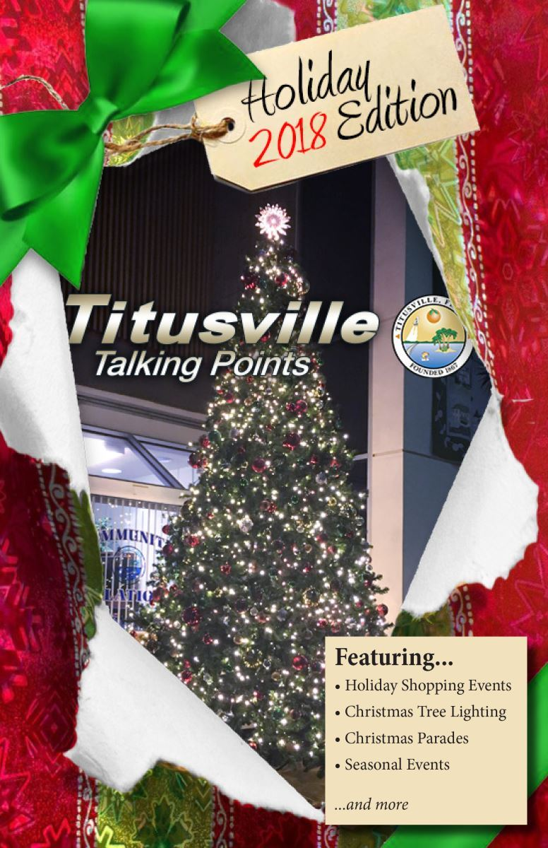 Holiday 2018 Titusville Talking Points Cover