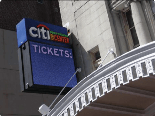 Citi Performance Center LED Marquee Sign