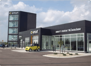 Smart Car Dealership - Photo by Bergstrom
