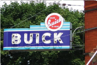 Buick Marquee Sign